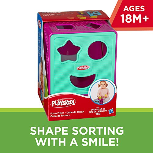 51DhpeSPsfL - Playskool Form Fitter, Shape Sorter, Ages 18 Months & Up (Amazon Exclusive)
