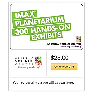 Arizona Science Center Gift Cards - E-mail Delivery (B00MV9HE4S) | Amazon Products