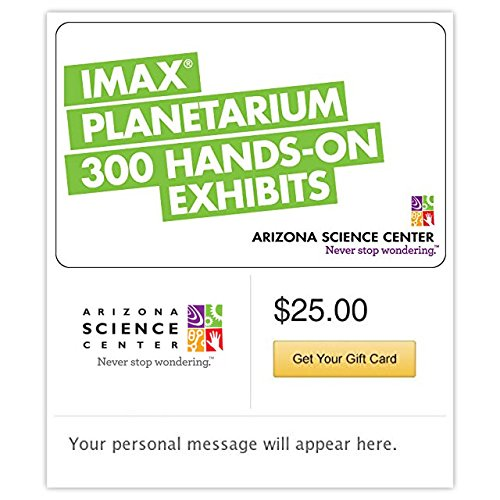 Arizona Science Center Gift Cards - E-mail Delivery