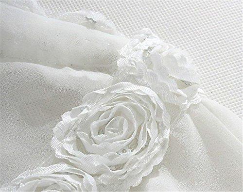 Eleganti Estivo Cucitura Chic Corto Donna Camicetta 4 Manica A Wei Pureed Cardigan Trasparente 3 Bolero g4dOHTgq