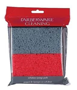 Farberware Cellulose Sponge, Set of 4
