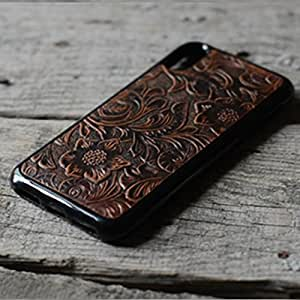 handmade Genuine leather wallet case FOR iphone X case