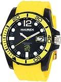 Haurex Italy Men's N1354UNY Caimano Date Black Dial Rubber Sport Watch