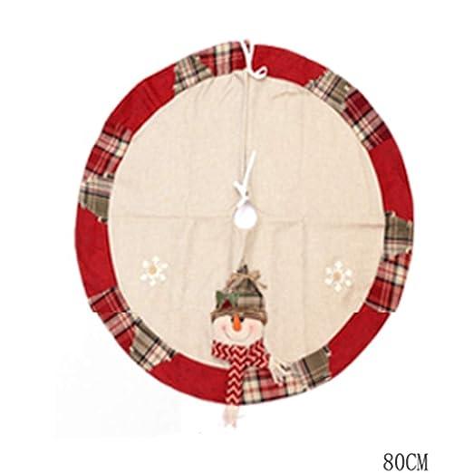 Falda para Árbol de Navidad Falda del Árbol De Navidad Delantal ...