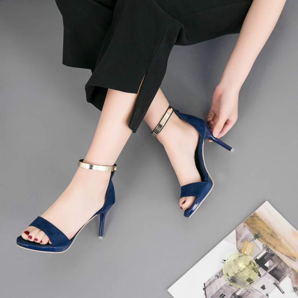 10 tage rückkehr Rieker Blau Damen Zehenfrei Sommer Sandalen
