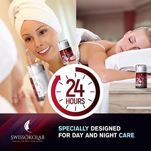 51DhrvTsM5L - Retinol Cream for Face Eye Neck Area - Day & Night Retinol Moisturizer - Anti Aging Face Cream with 2.5% Active Retinol Hyaluronic Acid - Firming Anti Wrinkle Cream for Men and Women