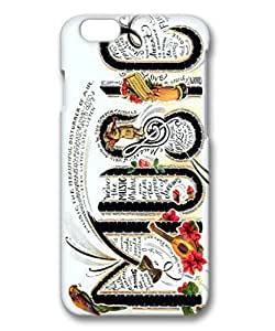 iphone 6plus case,iphone 6plus PC 3D fashion colorful custome design case,Illustrators Series Protective PC Case,Scratch Resistant,Perfect Fit with Aesthetic Print Back Cover for 5.5 inches iPhone 6plus,music by mcsharksby Maris's Diary