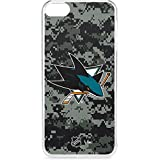 Skinit NHL San Jose Sharks iPod Touch 6th Gen LeNu Case - San Jose Sharks Camo Design - Premium Vinyl Decal Phone Cover