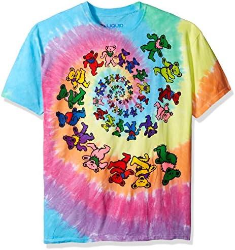 Adult TIE DYE Multi-Color Spiral Rainbow Hoodie Sweatshirt grateful dead