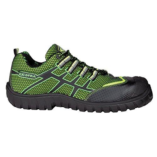 """Cofra 36300–000.w41Talla 41s1P SRC–zapatos de seguridad de """"Ghibli–Lima/Verde"""
