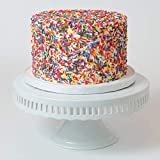 Sweet Lula Cakes, 8'' Vegan Funfetti Vanilla Cake, non Dairy