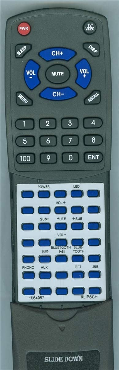 Replacement Remote for Klipsch R-14PM R-51PM R-28PF R-41PM R-26PF 1064957