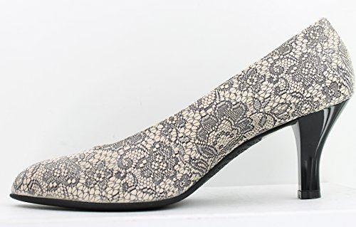 Beautifeel Tai Suède Pump Met Kantprint, Maat 37 Eu