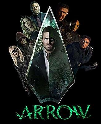 MOTIVATION4U Arrow, an American superhero television series, Oliver Queen/Arrow/Green Arrow, Laurel Lance/Black Canary/Black Siren 12 x 18 inch poster