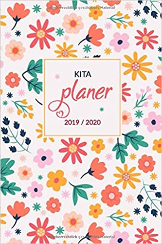 Calendrier Avent Kinder 2020.Amazon Fr Kita Planer 2019 2020 Dein Kalender Und