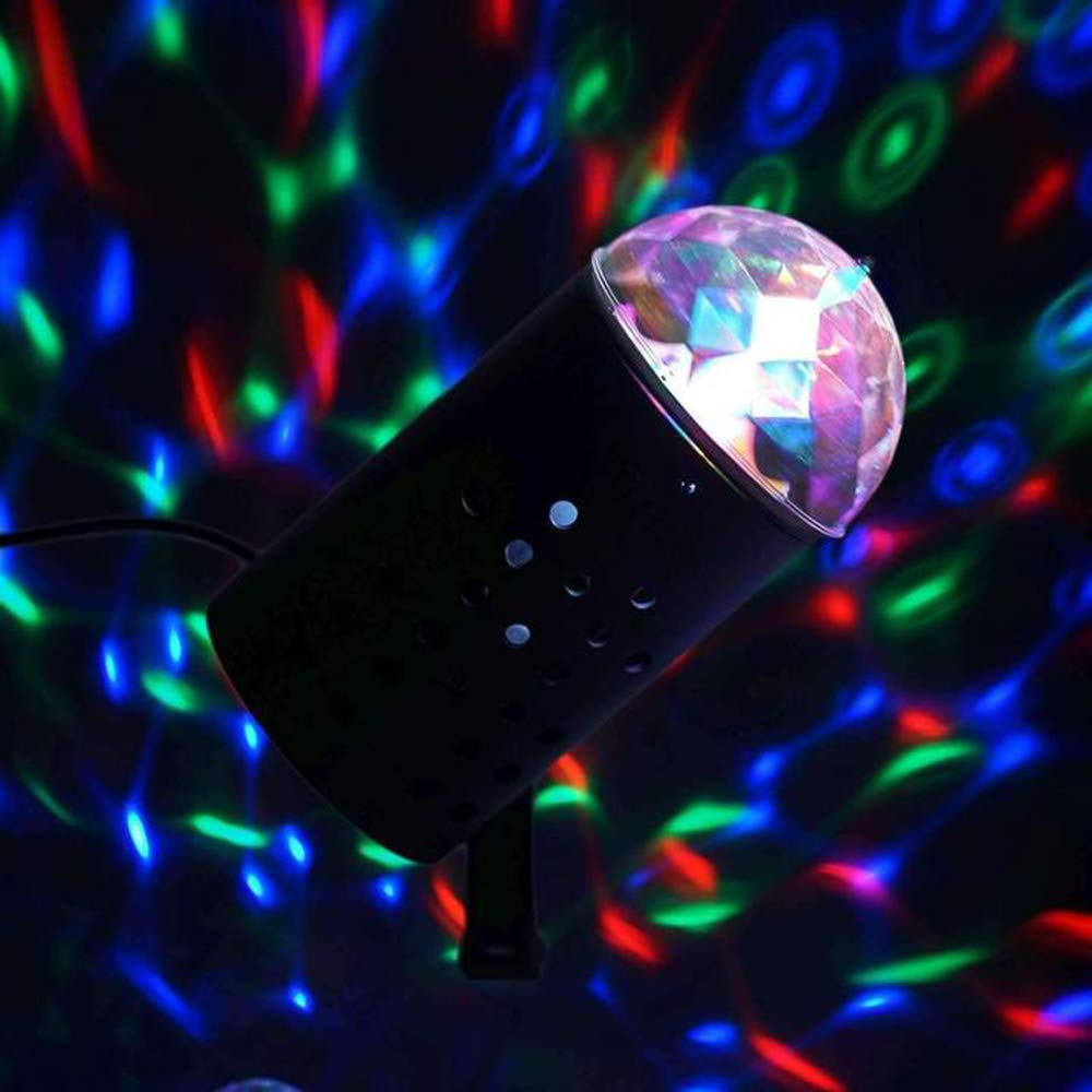 RGB 3D Projector Magic Ball 3W LED Stage Light