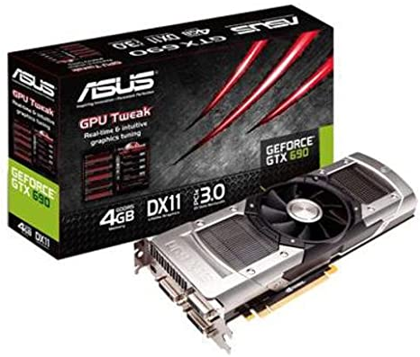 Asus Nvidia Geforce Gtx 690 Graphics Card Computers Accessories