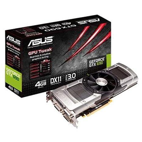 Asus GTX690 - Tarjeta gráfica (NVIDIA GeForce GTX 690, GDDR5 4 GB, 2560 x 1600)