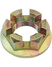 Rear Axle Nut, Flanged, for All Aircooled VW, Sold Each, Compatible with Dune Buggy