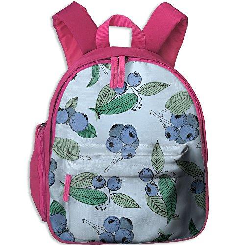 Pistachio Ricotta Salad Pattern Oxford School Bag Children Double Zipper Closure Travel With Front Pockets (Salad Pistachio)