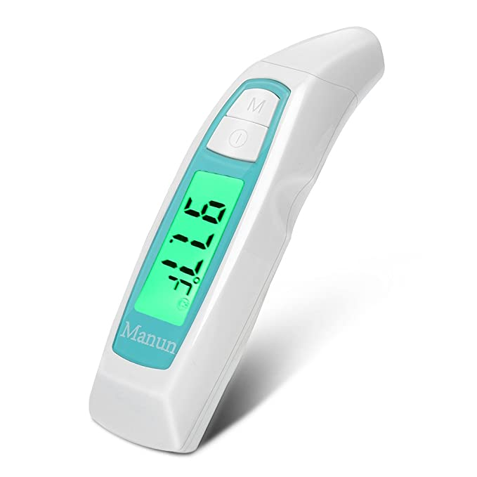 ALVITA INFRARED CHILDREN ADULTS BABY DIGITAL EAR THERMOMETER FAST AND ACCURATE
