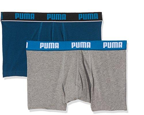 Melange Stripe Blue Intimo Basic Elastic grey 2p Puma Sailor Trunk Uomo CvHqxvFw