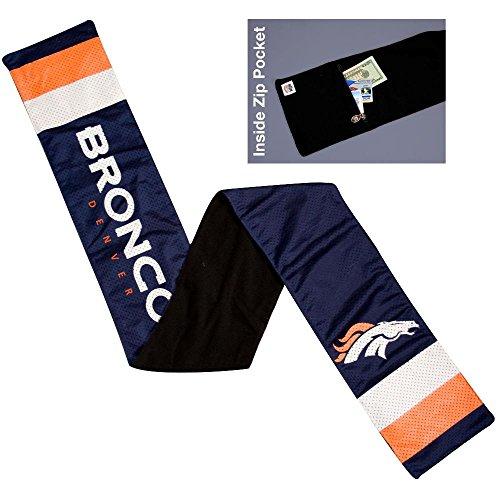(NFL Denver Broncos Jersey Scarf)