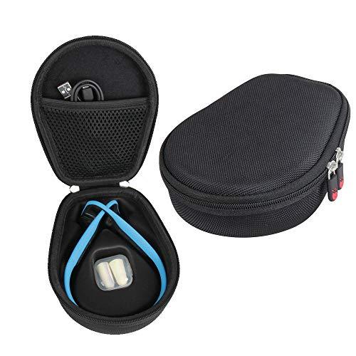 Titanium Black Case - Hermitshell Hard Case fits AfterShokz Trekz Titanium Open Ear Wireless Bone Conduction Headphones AS600 (Black)