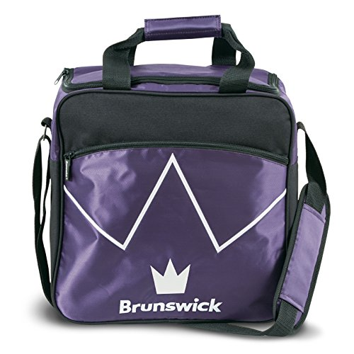 Brunswick Blitz Single Tote Bowling Bag, Violett