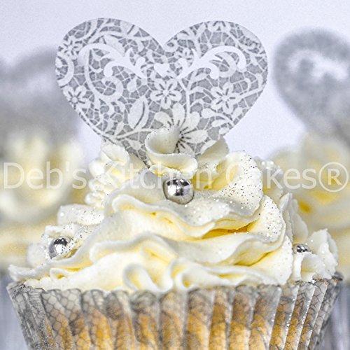 Wedding Cupcake Decorations: Amazon.co.uk