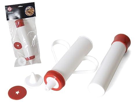 Churrera 24cm de plástico con 2 boquillas