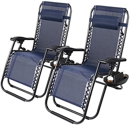2 Pack Zero Gravity Chair