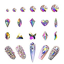 Crystal Rhinestones Set for Nails, Clothes, Face & Jewelry
