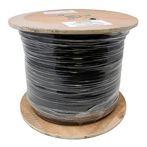 Lightkiwi E6618 12AWG 2-Conductor 12/2 Direct Burial Wire for Low Voltage Landscape Lighting, 500ft by Lightkiwi (Image #1)
