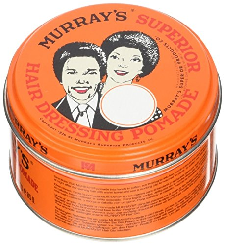 Murrays Superior Hair Pomade 3 Ounce (88ml) (6 Pack)