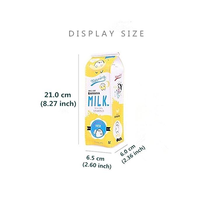 Amazon.com: LifeDawn - Juego de 3 cajas de leche creativas ...