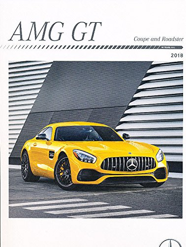 - 2018 Mercedes Benz AMG GT GTR GTC GTS 40-page Car Sales Brochure Catalog