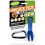 Unlock Tick Tick Remover You and Your Pets. (Dog, Cat, Horse, Etc.) Great for Hunting, Hiking, Fishing, Camping, and Golfing.