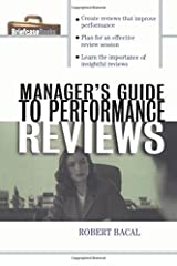 The Manager's Guide to Performance Reviews Paperback