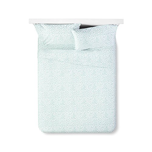 Sabrina Soto Confetti Dash 400TC Queen Sheet Set Turquoise W