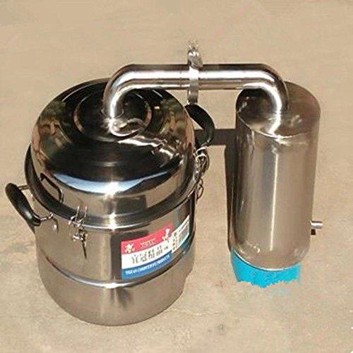 10/20L 2/5 Gallon Home Alcohol Distilled Water Distiller Moonshine Still Spirits Wiskey Thumper Keg Brewing Kit Water Essential Oil Boiler