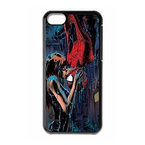 Spider-Man HILDA075470 Phone Back Case Customized Art Print Design Hard Shell Protection Iphone 5C