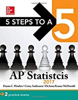 5 Steps to a 5 AP Statistics 2017 Edition Front Cover