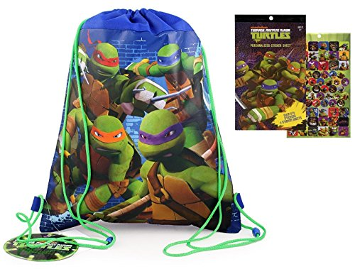 [Teenage Mutant Ninja Turtles Sling Bag W/Bonus Sticker Book] (Nickelodeon Teenage Mutant Ninja Turtles Treat Bags)