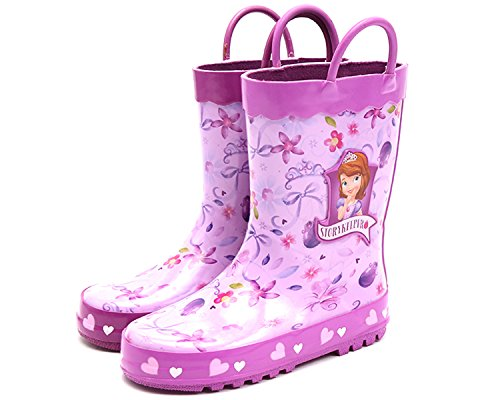 Joah Store Disney Sofia The First Story Keeper Purple Rain Boot (Parallel Import/Generic Product) (8 M US - International First Usps