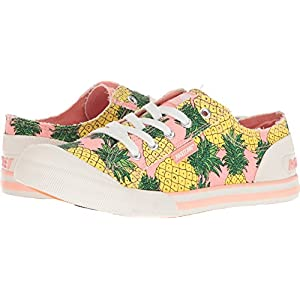 Rocket Dog Women's Jazzin Fruit Juice Cotton Sneaker, Pink, 11 M US