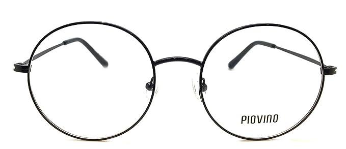 d9d98987f6 Amazon.com  New Design Piovino RX Eyeglasses Frames Pv 5504 Black ...