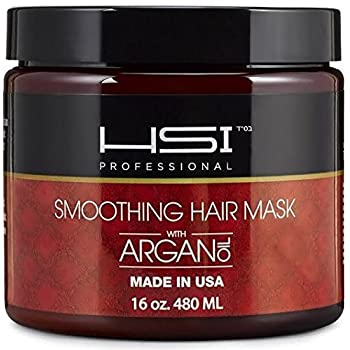 Set A Shopping Price Drop Alert For HSI PROFESSIONAL Hydrating smoothing Anti-Frizz Hair Mask for all hair types, infused with vitamins a, b, c, & d. creates silky, smooth and healthy hair. sulfate free. Made in USA. no more split ends (16oz)