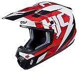 HJC Unisex-Adult's Off Road CS-MX II Dakota Helmet (Red/Black/White, Small),