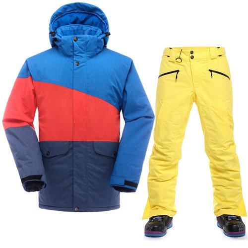 LEIT YFF Esquí Saenshing Hombres Traje térmico Impermeable ...